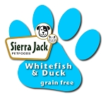 Whitefish and Duck No Grain Formula (dry dog food)